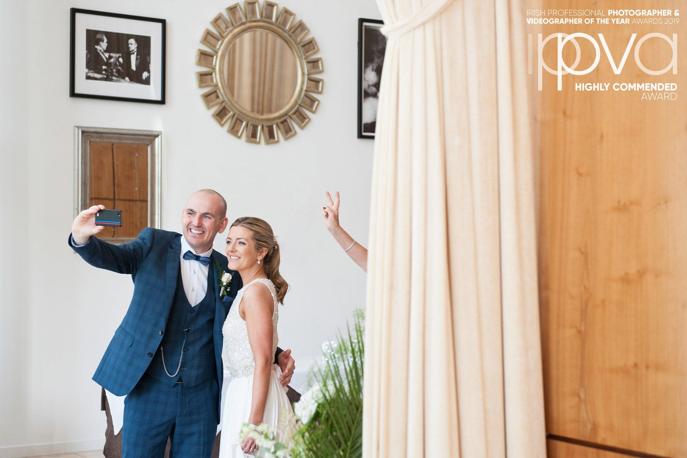 Fun Award-winning Castlemartyr Wedding Photographer Cork