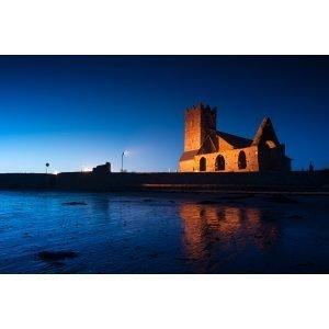 Abbeyside Church at Night