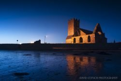 Abbeyside Church at Night Dungarvan