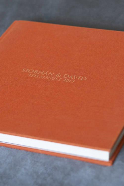 Linen Storybook Wedding Album