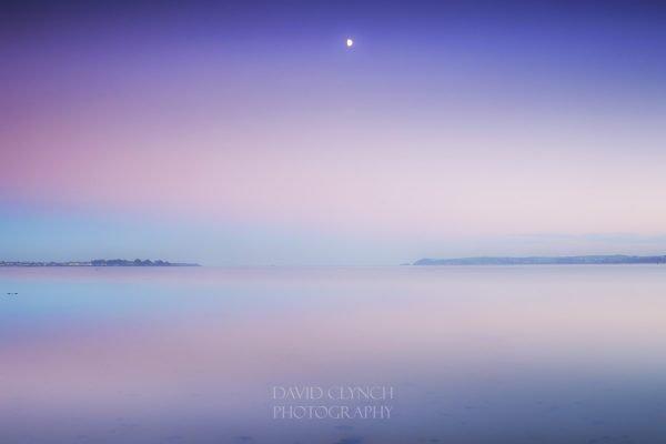 Clonea Beach Sunset