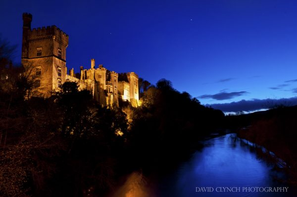 Lismore Castle at Night